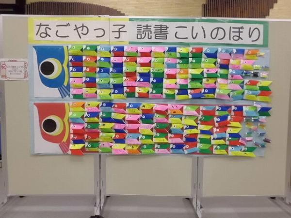 鶴舞中央図書館 なごやっ子 ... : 折り紙 鯉のぼり : 折り紙